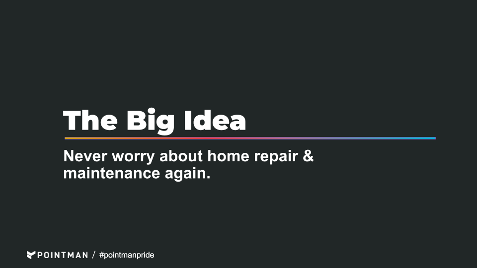 design for subscription home maintenance service